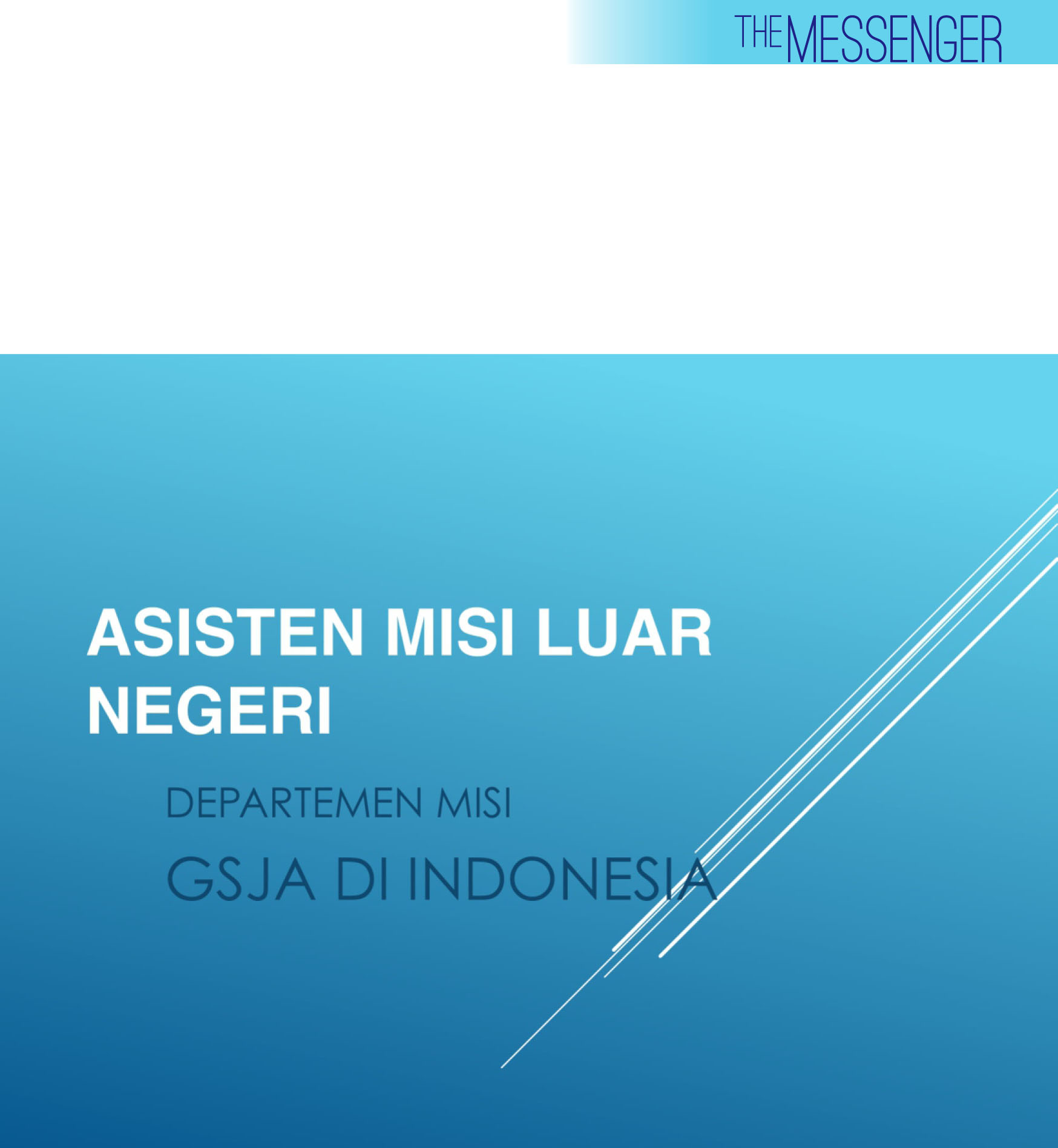 THE MESSENGER EDISI IV.cdr